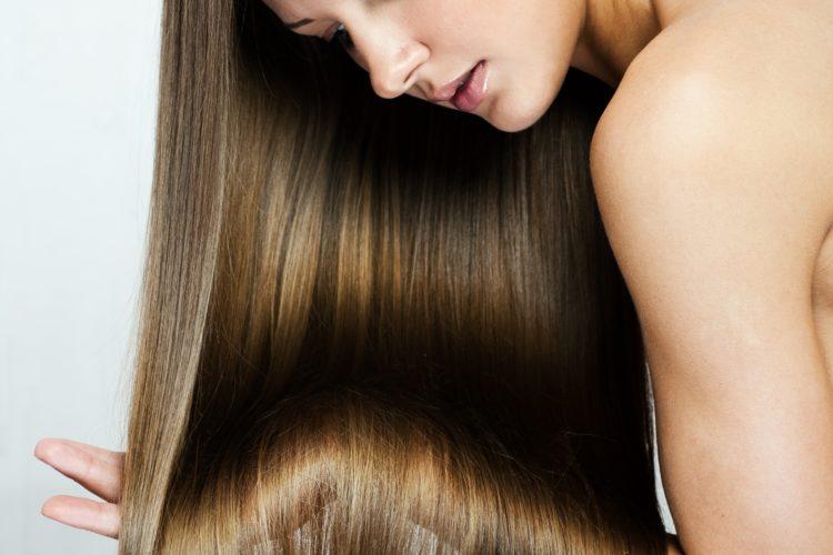 キレイな美髪になった女性の画像