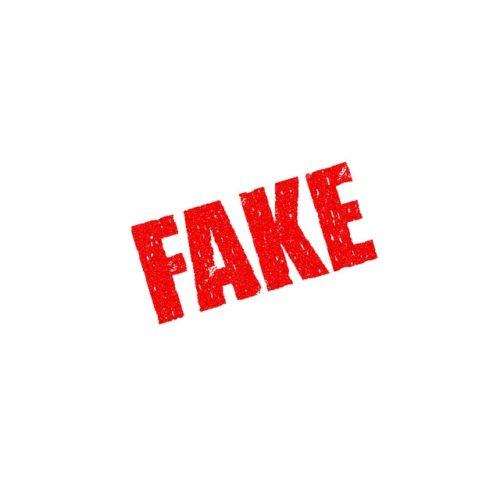 FAKE 偽物