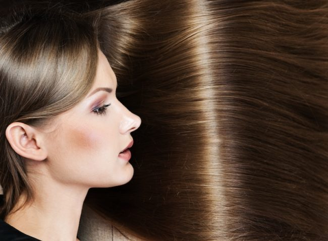 美髪矯正 シルクレッチ 女性画像