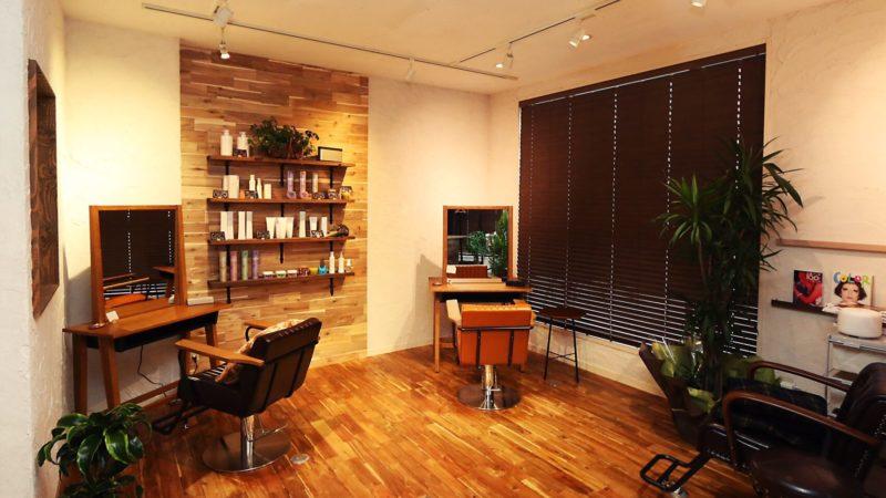 秋田市東通仲町 美髪矯正専門店の美容室 ハンモックの店内画像