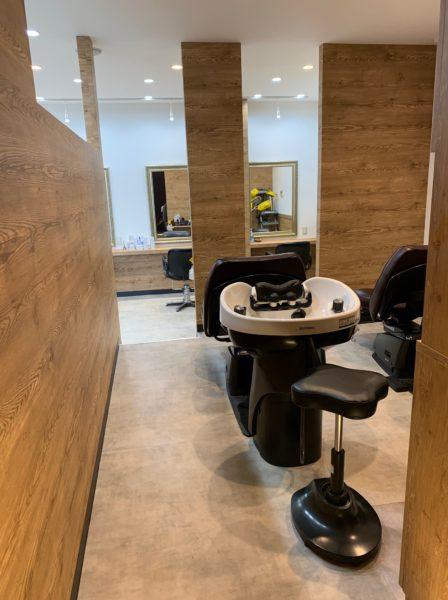 山形市の美髪矯正専門店サロンLoLaの店内画像